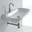 "WS Bath Collections Ciotola 19.7"" Wall Mounted Vessel Bathroom Sink"
