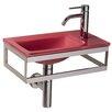WS Bath Collections Linea Pocieta Bathroom Sink
