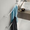 "WS Bath Collections Mito 25.2"" Wall Mounted Towel Bar"