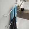 "WS Bath Collections Mito 25.2"" Wall Mounted Towel Bar"