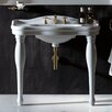 """WS Bath Collections Contea 39.4"""" Free Standing Bathroom Sink with Overflow"""
