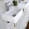 WS Bath Collections Linea Qaurelo Bathroom Sink