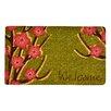 Design by AKRO Welcome Floral Coir Doormat