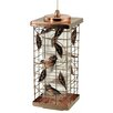 Akerue Industries 2 Port Copper Caged Bird Feeder