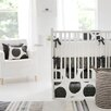 New Arrivals Spot On collection 4 Piece Crib Bedding Set