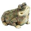 Kenzie Toad Resin Statue Planter - Michael Carr Planters