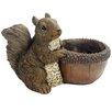 Squirrel Resin Statue Planter - Michael Carr Planters