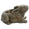 Rabbit Statue Resin Planter - Michael Carr Planters
