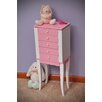 Mele & Co. Louisa Girl's Jewelry Armoire in Pink and White