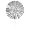 Viento Traditional Pinwheel - Size: Large - Blomus Garden Statues and Outdoor Accents