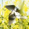 Viento Petal Pinwheel - Size: Medium - Blomus Garden Statues and Outdoor Accents