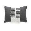 Oilo Sticks Motif Cotton Throw Pillow