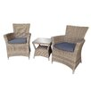 Cozy Bay Eden 3 Piece Bistro Set