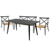 Cozy Bay Milos 4 Piece Dining Set
