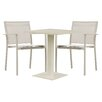 Cozy Bay Verona 3 Piece Dining Set