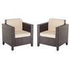 Cozy Bay Morocco Arm Chair (Set of 2)