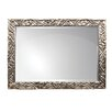 Home Essence Rectangle Wood Mirror