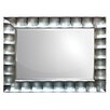 Home Essence Contemporary Wood Mirror