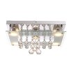Home Essence St. Tropez 5 Light Flush Ceiling Light