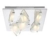 Home Essence 6 Light Flush Ceiling Light