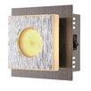 Home Essence Cayman 1 Light Flush Wall Light