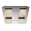 Home Essence Cayman 4 Light Flush Ceiling Light