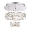 Home Essence Amur 1 Light Crystal Pendant