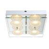 Home Essence Oda 4 Light Flush Ceiling Light