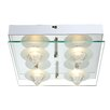 Home Essence Ramiro 4 Light Flush Ceiling Light
