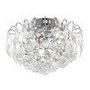 Home Essence Toulouse 4 Light Flush Ceiling Light