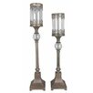 Crestview Collection Traditions 2 Piece Metal Ashland Candlestick Set