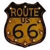 Crestview Collection Route 66 Textual Art