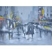 Crestview Collection 'City' Original Painting on Canvas