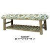 Crestview Collection Hillcrest Pinewood Bedroom Bench