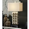 "Crestview Collection Bennett 33"" H Table Lamp with Rectangular Shade"