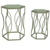 Crestview Collection Springs 2 Piece Nesting Tables