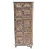 Crestview Collection Jackson 6 Door Weathered Oak Cabinet
