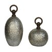 Crestview Collection 2 Piece Tinsdale Decorative Urn Set