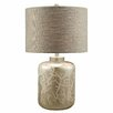 """Crestview Collection Crystal Coral 28"""" H Table Lamp with Drum Shade"""