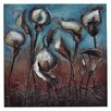 Crestview Collection 'Dancing Floral' Painting Print on Canvas