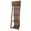 "Crestview Collection Deer Run Sled 72"" Accent Shelves"