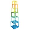 """Crestview Collection Columbia Stackable 70.25"""" Cube Unit"""