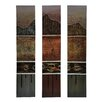 Crestview Collection 'Triple play' 3 Piece Painting Print on Canvas Set