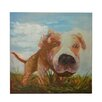 Crestview Collection 'Watch Dog' Painting Print on Canvas