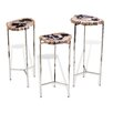 Interlude Amari 3 Piece End Table Set