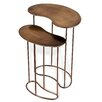 Interlude Anton End Table (Set of 2)
