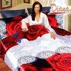 Dophia Diana 6 Piece Duvet Cover Set