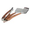Charcoal Companion Vineyard Rosewood 3 Piece BBQ Tool