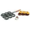 Charcoal Companion Deluxe 3 Piece Mini Burger Set
