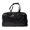 """Piel Leather Traveler Deluxe 17"""" Leather Carry-On Duffel"""
